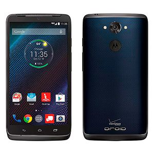 Motorola Droid Turbo Blue ballistic nylon